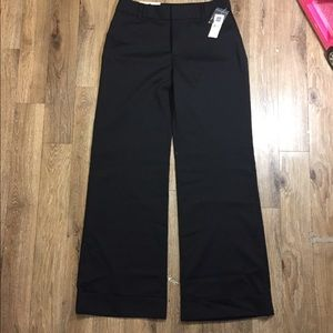 NWT Black Trouser Classic Fit/ size 8R Gap stretch